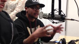 Eighty4 Fly and DJ B-Mello Live interview with KUGR radio in Pullman, WA. Feb 09, 2012