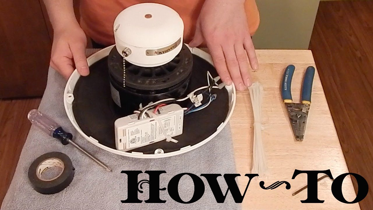How To Install Ceiling Fan Remote Receiver In Motor Housing Youtube Hampton Bay Wiring Diagram