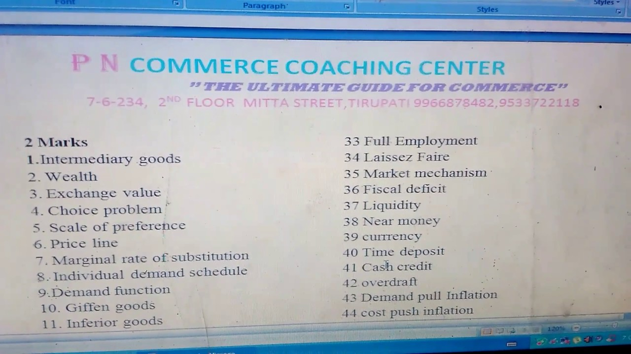 importance of commerce to the economy