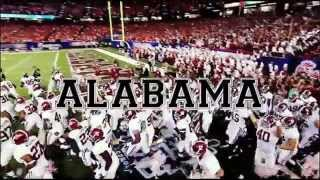 At Some Places They Play Football, At Alabama... We Live It!
