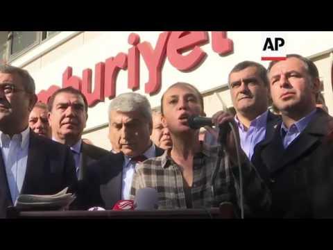 Turkish opposition newspaper editor arrested