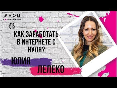 Как заработать дома в AVON OnLine от 100 000 р