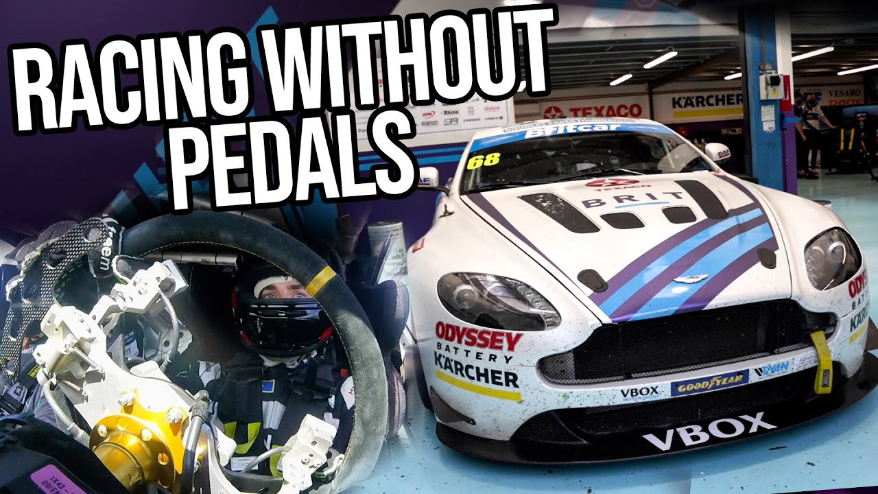 What's It Like To Drive A Racing Car With HAND CONTROLS?