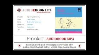 PINOKIO | AUDIOBOOK - Piękna Bajka dla Dzieci do słuchania na MP3 - Carlo Collodi