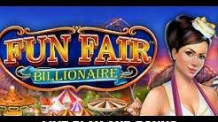 Fun Fair Billionaire Novomatic Slot, Live Play and Free Spins Bonus *New Game*