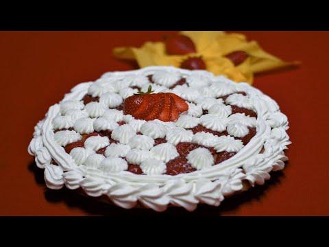 أسهل-و-ألذ-حلوة-بالفراولة-♥-inratable-gâteau-à-la-fraise-♥