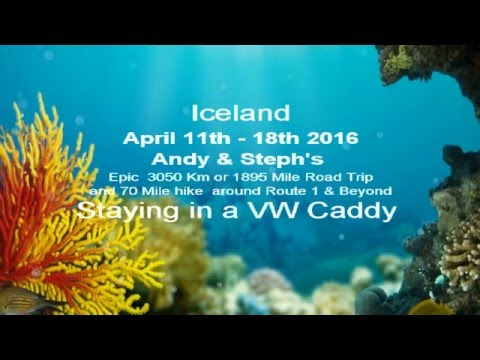 Iceland Road Trip, April 2016, Day1