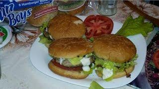 Гамбургер по домашнему