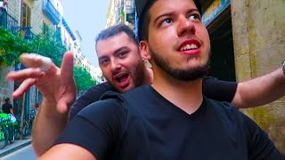 barcelona chariot race w hike typical gamer vlog