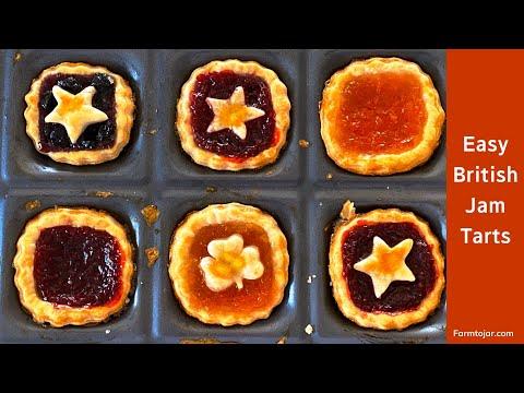 Valentine's Jam Tarts - Cooking with Kids