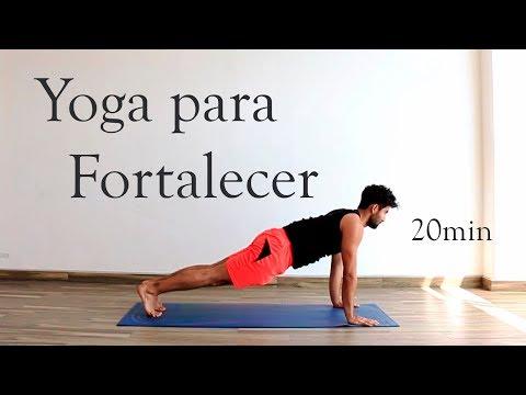 Yoga para fortalecer y tonificar todo el cuerpo | 20 min from YouTube · Duration:  22 minutes 7 seconds
