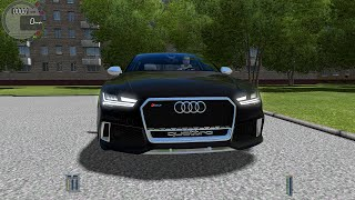 Audi RS7 Gameplay City Car Driving (G27)