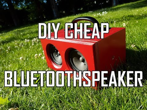 Bluetooth Speaker DIY Cheap and Easy