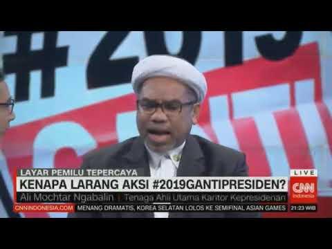 Ngabalin bilang #2019gantipresiden Makar, Ruhut Bingung, Lain Pula Prof. Mahfud MD