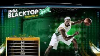 NBA 2K13: Blacktop Mode (LeBron James Vs. O.J. Mayo)
