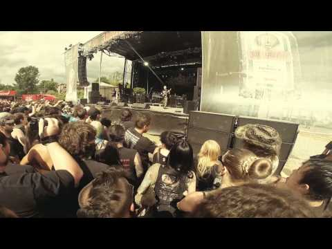 Dying Fetus - Grotesque Impalment/Praise the Lord LIVE Rockfest 2014 Gopro