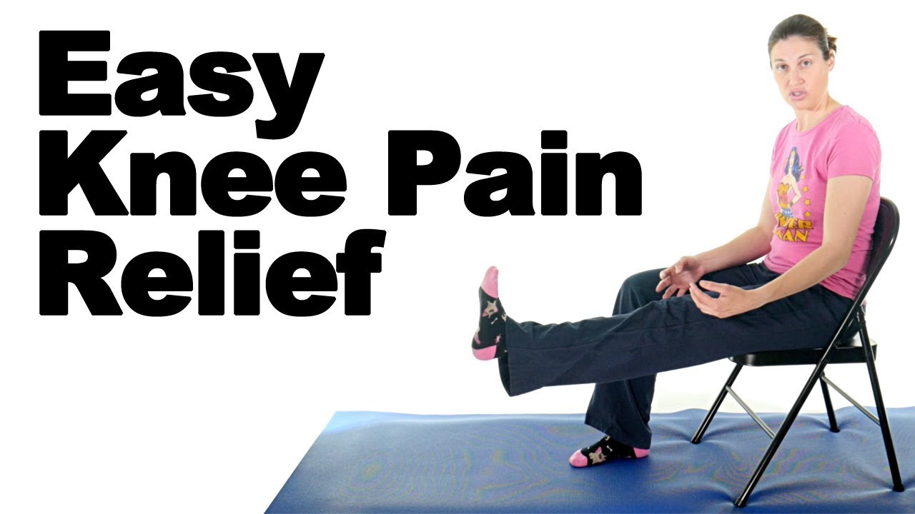 7 Knee Pain Relief Exercises for Beginners - Ask Doctor Jo