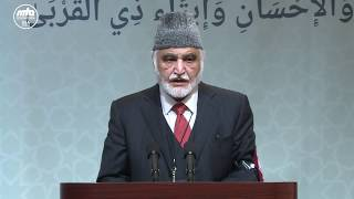 Dr Hameed Ur Rehman Introductory Remarks during Guest Session - Jalsa Salana West Cost 2017