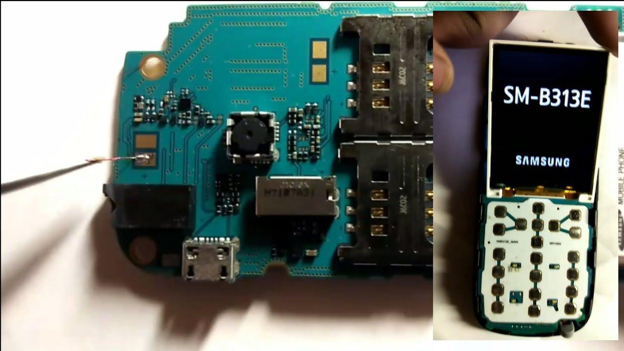 Samsung B310e B313e B110e Lcd Light Solutions 100 Youtube