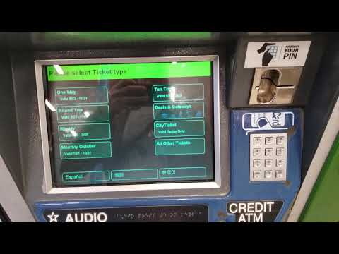How To Use A LIRR Ticket Machine