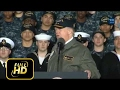 [Trump News]Donald Trump Speech at the NAVY USS Gerald R Ford