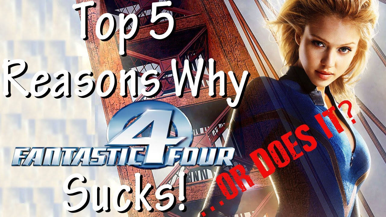 Download Top 5 Reasons Fantastic Four (2005) Sucks! ...or Does It?