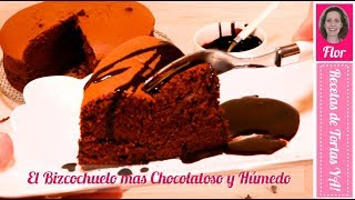 El Mejor Bizcochuelo Super Húmedo - Jiggly Chocolate Cake - Recetas de Tortas YA!