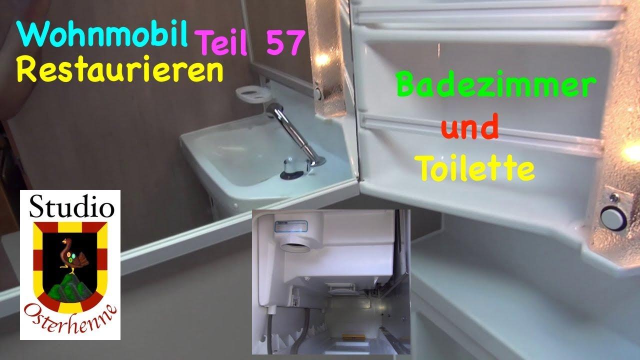 Fabulous Wohnmobil Renovieren Teil #057 Tipps für Bad und WC ausbauen OB33