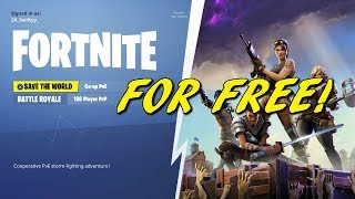 89+ Redeem Code Fortnite Save The World Code Ps4 - GET YOUR INSTALL