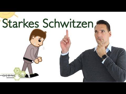 Starkes Schwitzen: Ursachen und was ihr dagegen tun könnt! - Gerne Gesund