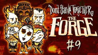 Don't Starve Together: The Forge #9 - Nowy Forge w zgranej ekipie!