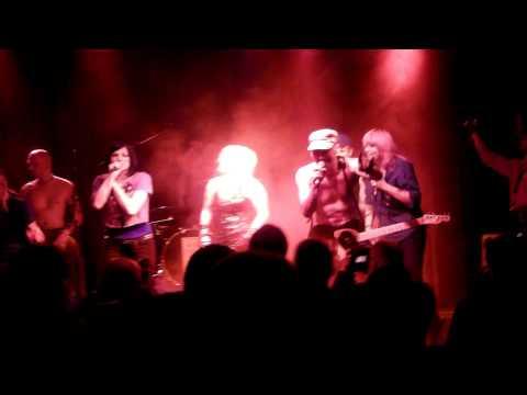 "NICHTS  ""Tango 2000""  live im JAB, Düsseldorf 7.4.2012 (Gast Doro Pesch)"