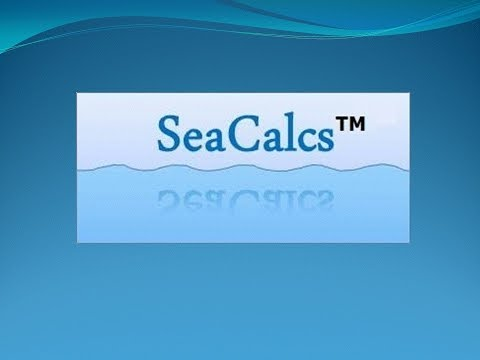 SeaCalcs Marine Apps | Barge Load Dwt Program | 3D DEMO