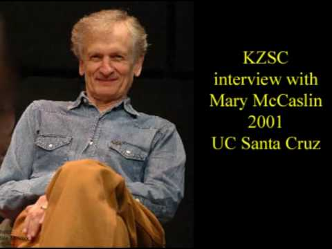 Mike Seeger/Mary McCaslin KZSC interview part 1