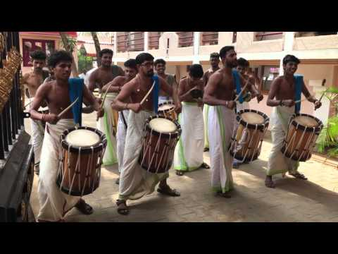 Drummers from a South Indian wedding