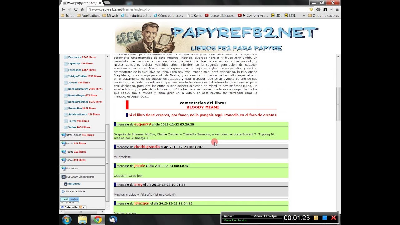 Descargar Libros Fb2 Papyre Tutorial De Papyrefb2 Youtube