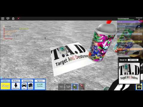 92 Spray Paint Roblox Roblox Spraypaint Decal Id Codes Youtube