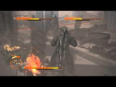 ゴジラ-GODZILLA-VS free Battle  Godzi Vs Godzi Vs Godzi