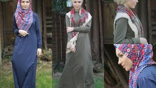 One Abaya Two Different colours Two Different ways