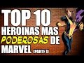 Top 10 Heroínas de Marvel Parte 1 Cesar Player 2