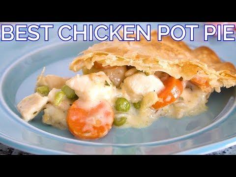 The Best Classic Chicken Pot Pie Recipe