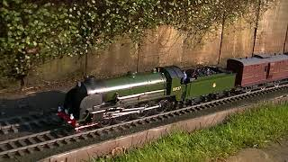 Download Lagu Live Steam King Urther with the SE&CR Boat train by Peter Rogers mp3