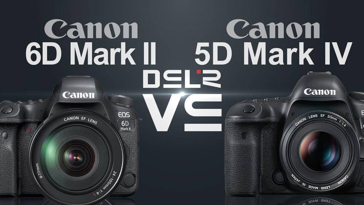 canon eos 6d mark ii vs canon eos 5d mark iv youtube. Black Bedroom Furniture Sets. Home Design Ideas