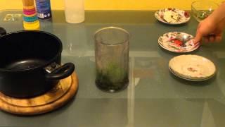 Рецепты соусов: Соус к рыбе из зеленого горошка и мяты (рецепт)