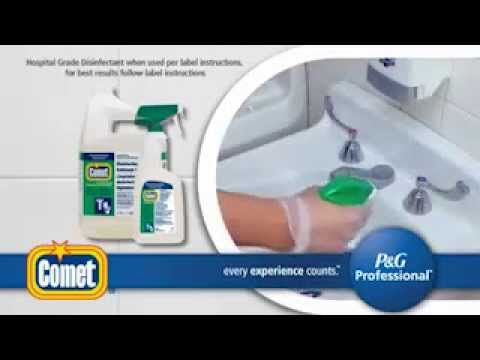 Comet Disinfecting Sanitizing Bathroom Cleaner Low