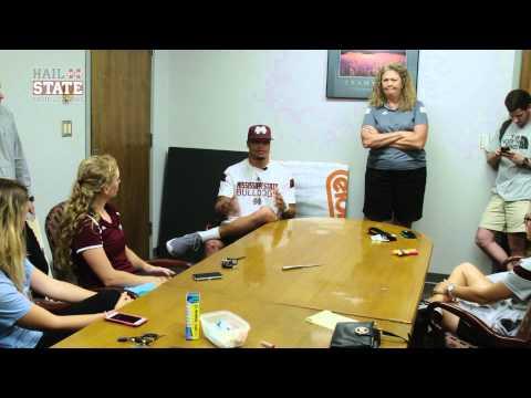 Dak Prescott Speaks with Women