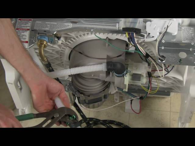 how to install a built in dishwasher 6 steps with pictures rh wikihow com wiring a dishwasher with a plug uk Dishwasher Plug Types