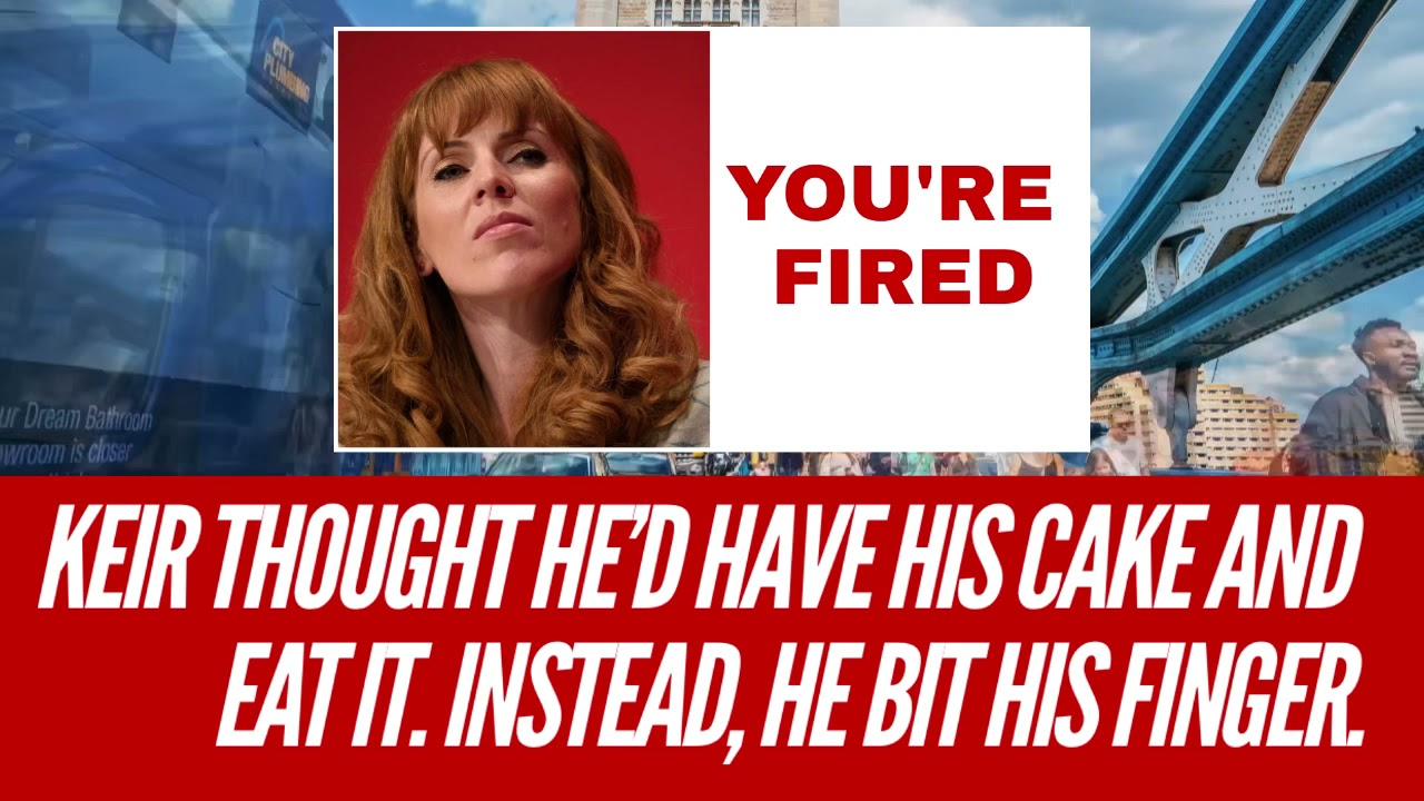 WATCH /// Keir thought he'd have his cake and eat it. Instead, he bit his finger. #AngelaRayner