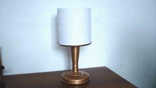 як зробити абажур для лампи своїми руками