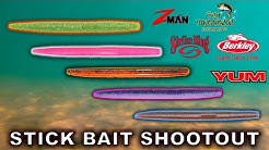 Which Senko Style Bait Is The Best? Crystal Clear Underwater Video!